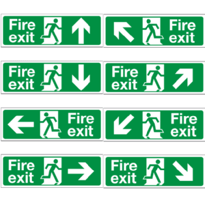 Directional and Exit Signs