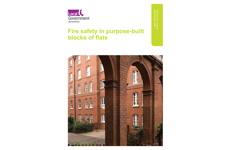 Fire Safety in Purpose-Built Flats Cover