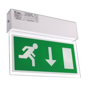 Luminaire Fire Exit Sign